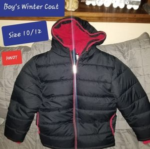 Boys Winter Coat Size 10/12